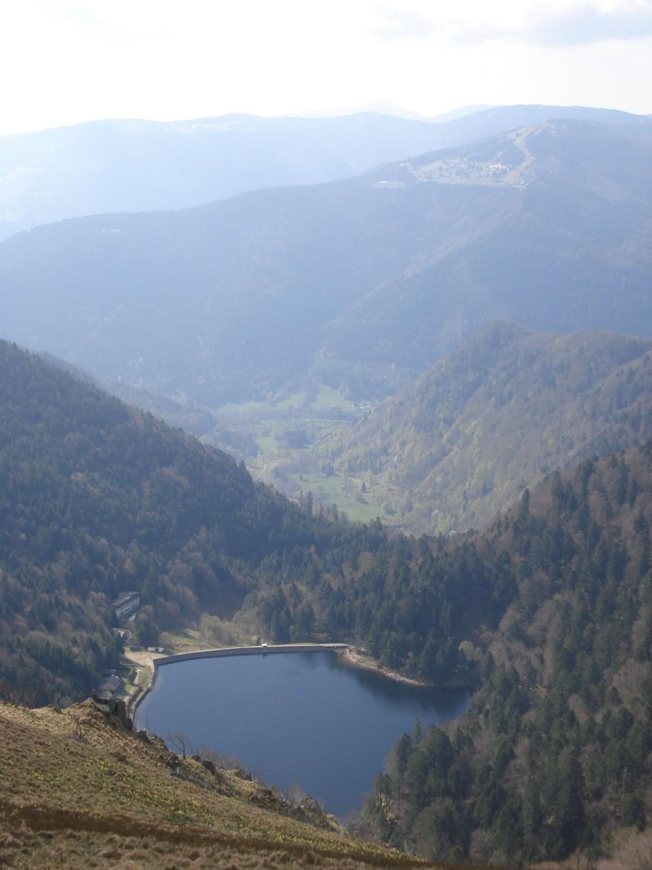 Lac de Schiessrothried et Wormsa, depuis Schiessroth