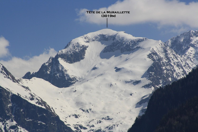 La Tête de la Muraillette, versant N