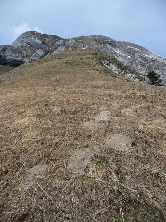Itinéraire vu du point 1546
