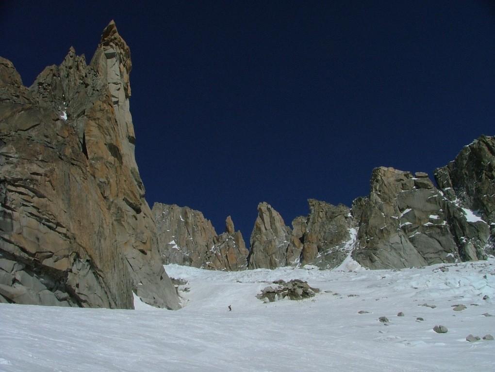 Glacier du Milieu : vers 3000 m