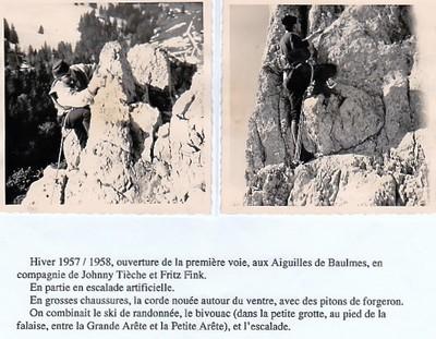1957 /58 Ouverture 1ère voie