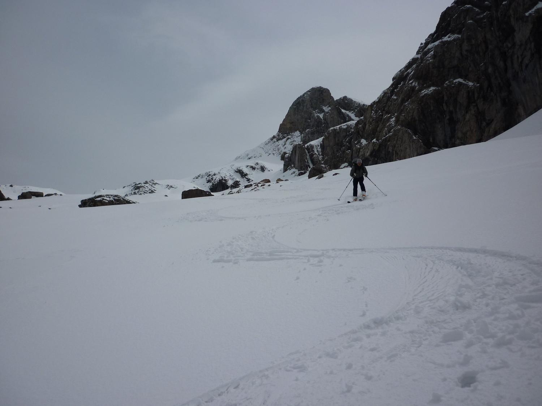 Encore bien skiable dans le même vallon