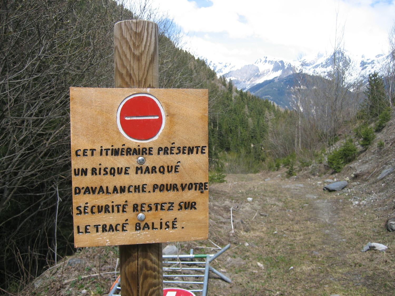 Valfréjus : risque d'avalanche ! ;-)