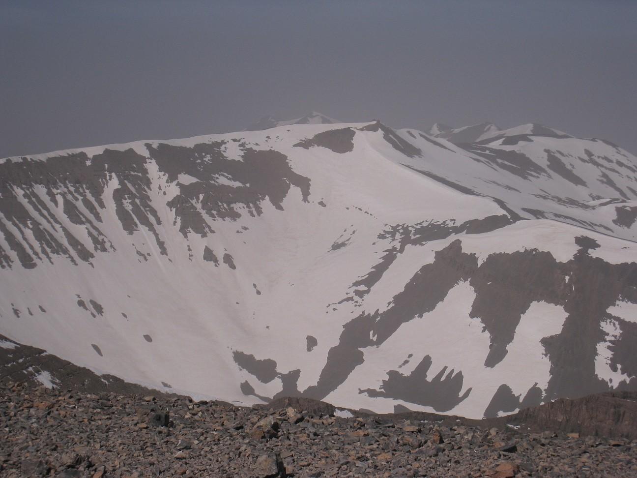 Djebel M'Goun(4068m) - arête sommitale