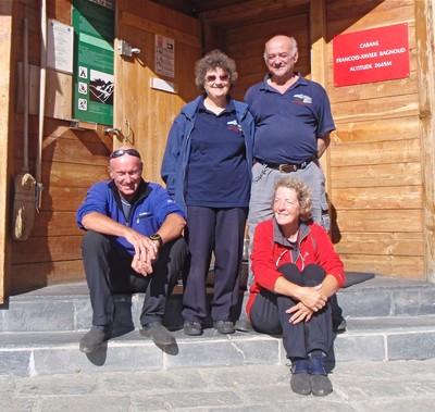 Maxime le gardien et sa Jeanne, Marcel le guide et sa Jane aussi: adieu Panossière