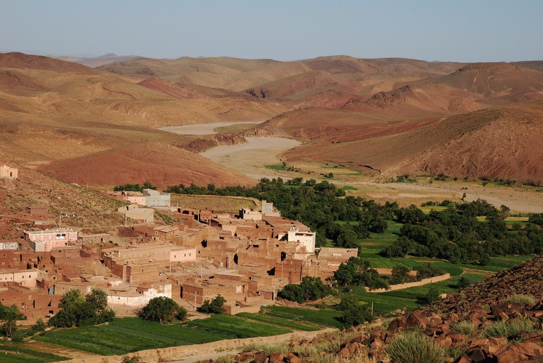 Village de Tamallakoute, au départ du circuit