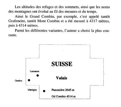 Panossière, plan général de situation