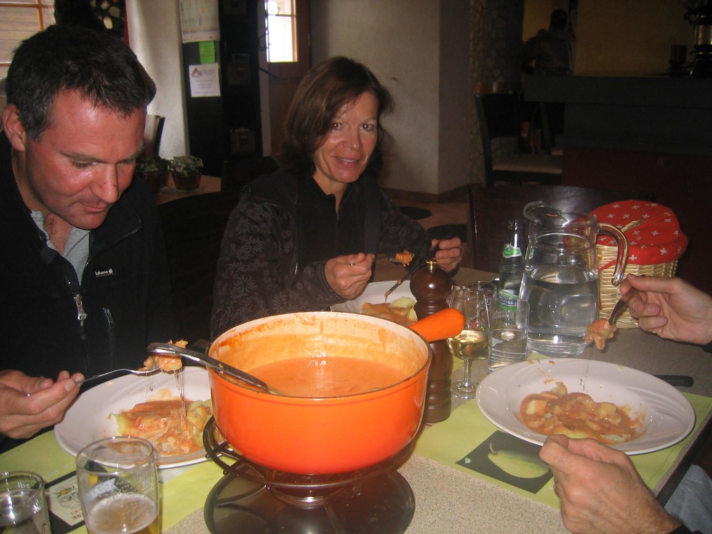 La fondue à la tomate