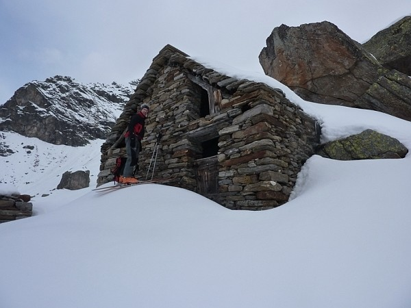 Salendo al Pizzo Campo Tencia da S. Alpe Pradoi