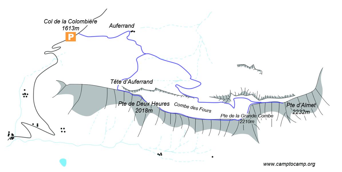 Itineraire Pointe d'Almet