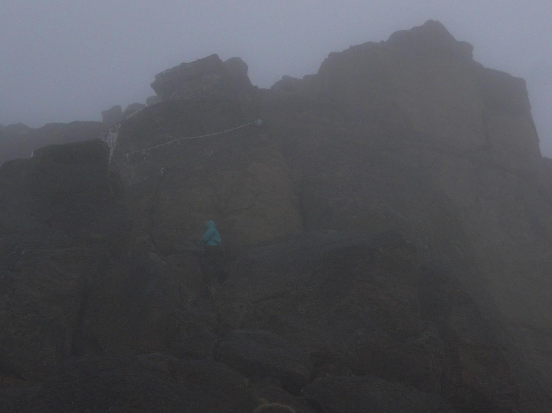 Piton sommital du Djebel Sirouah