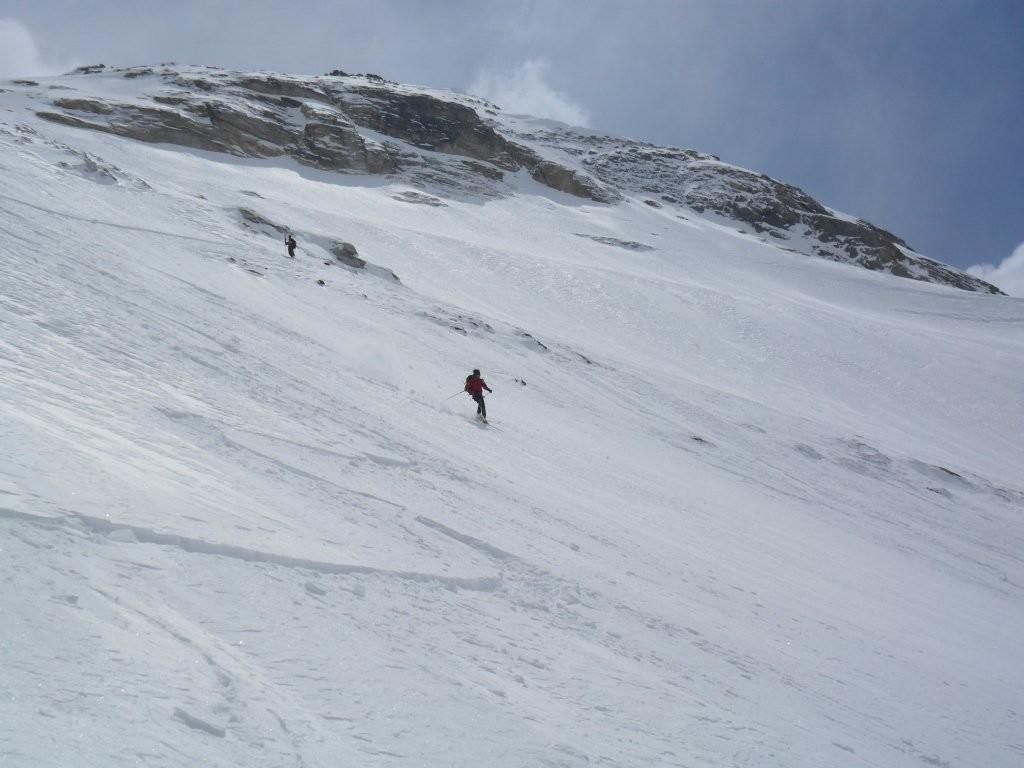 gran sciata lungo la nord
