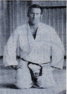 Marcel Demont, dans les années 1960, guide à plein temps et judoka combattant en élite