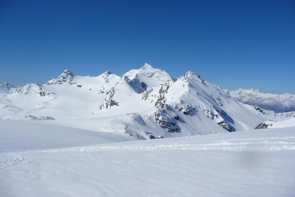 Panorama depuis le replat avant le col de Gebroulaz