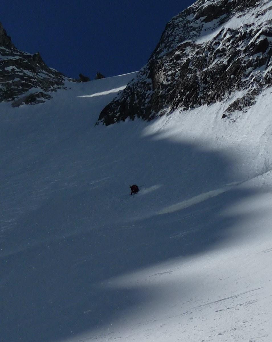 ....200 m. a 50° in neve fantastica....