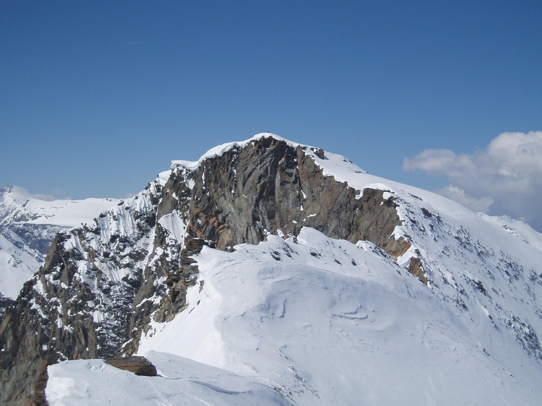 Pointe Francesetti depuis la Cime Monfret