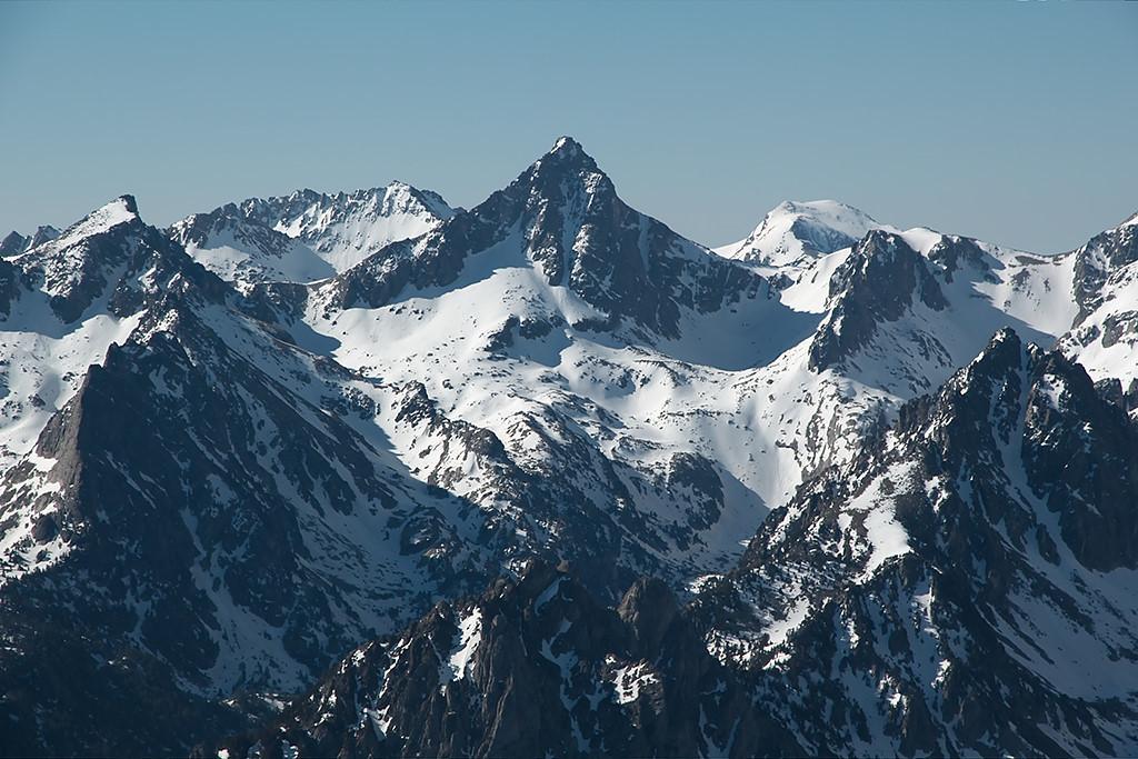 Pic de Péguère depuis pic de Saboredo