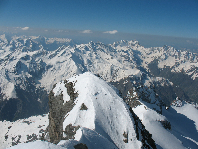 Le Sirac vu du sommet