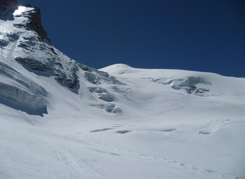 Descente du Glacier di Laveciau
