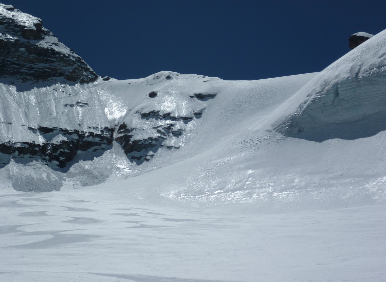 Col du Gran Neyron - versant N