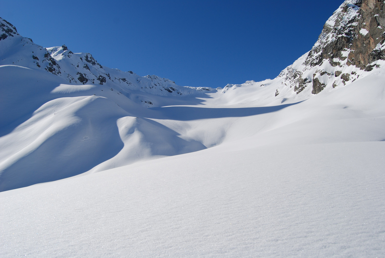 Sulla Vedretta E Dosdè a  circa 2800 m.