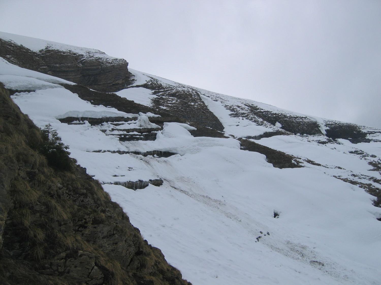 croise Baulet - versant West