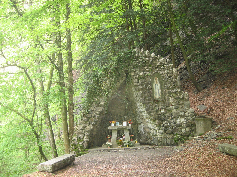 grotte Mariale - fin parcours