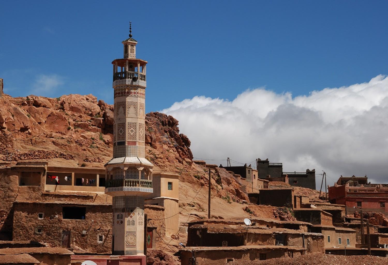 Village d'Aziwan, Djebel Sirouah , Anti-Atlas