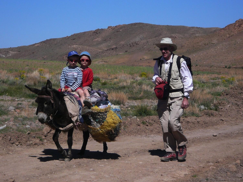Entre Turtit et Tachakocht, Djebel Sirouah , Anti-Atlas