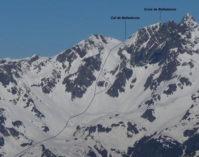 Col de Belledonne - Versant E