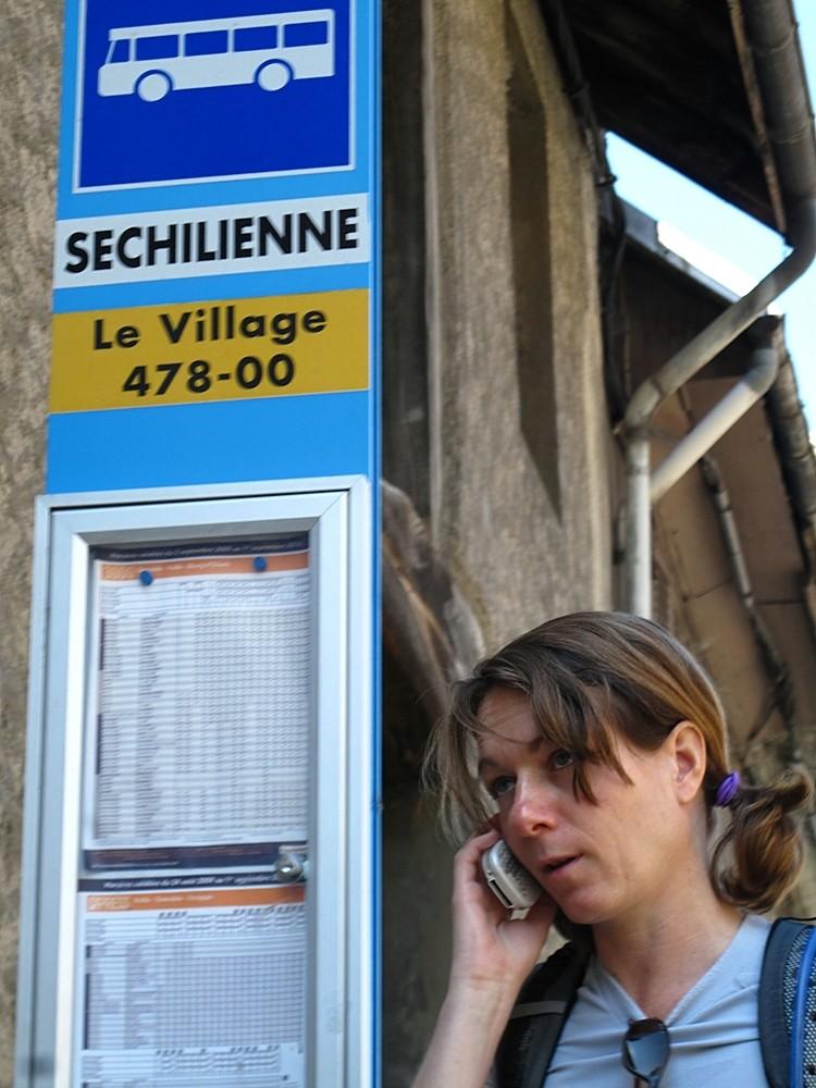 Palabres techniques à Séchilienne