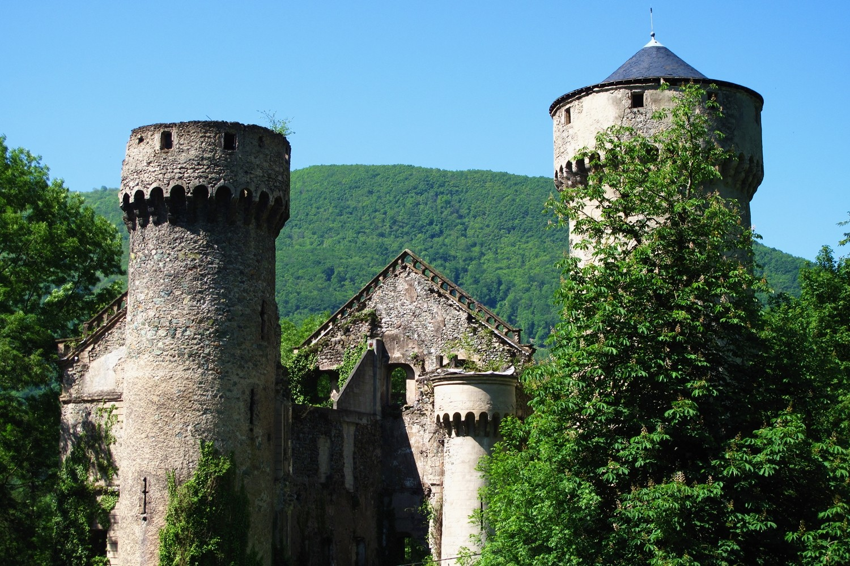 Ruines à Séchilienne