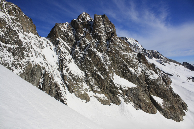 La pointe Marguerite et le Col du Vallon de Lanchâtra