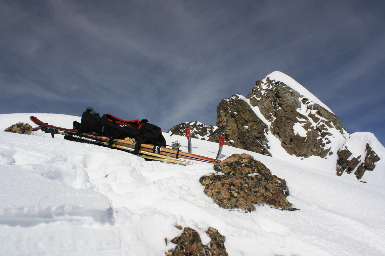 La Pointe Swan depuis son antecime 3250m