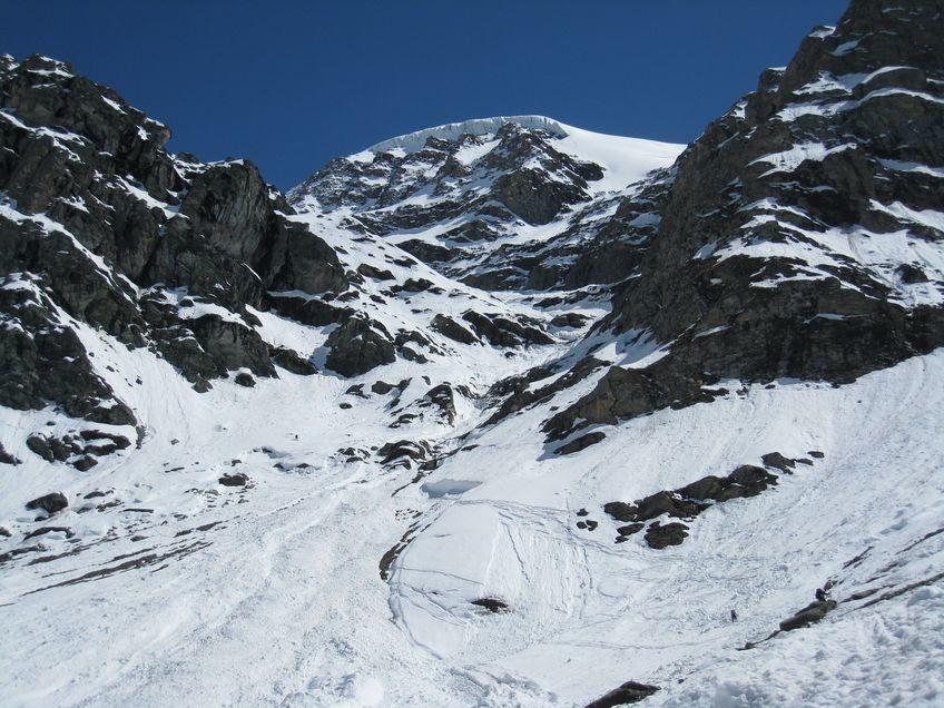 Partie inférieure du glacier supérieur du Vallonnet