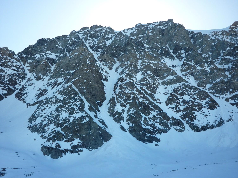 couloir septentrional du mont Vélan