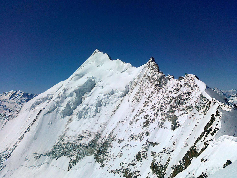 Weisshorn depuis le sommet du Bishorn