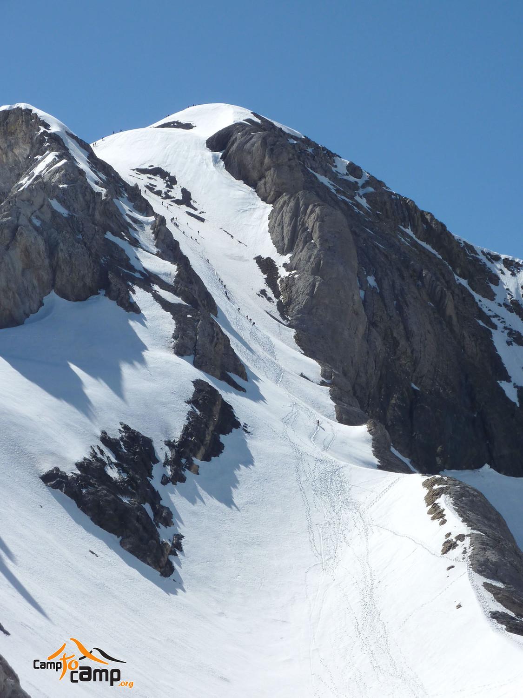 Mont Perdu - voie classique depuis le col du Cylindre