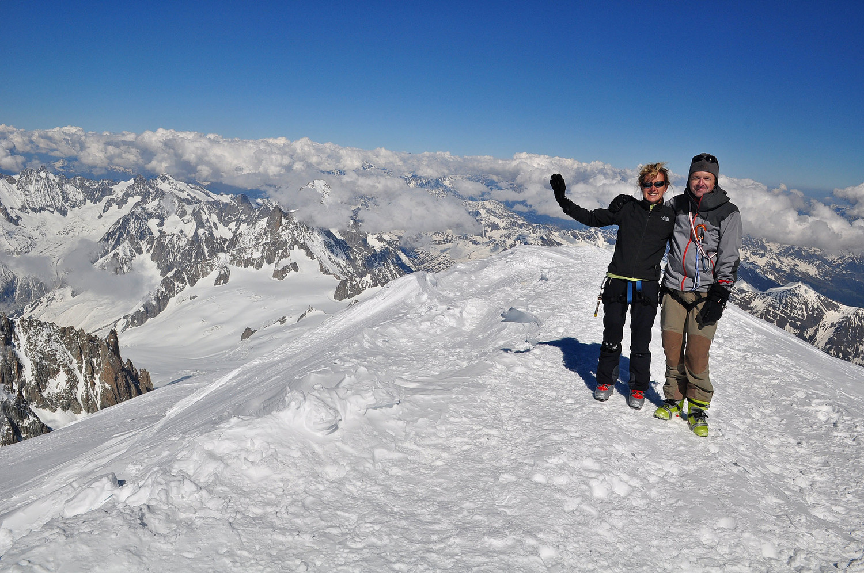 Nicole et David au sommet !