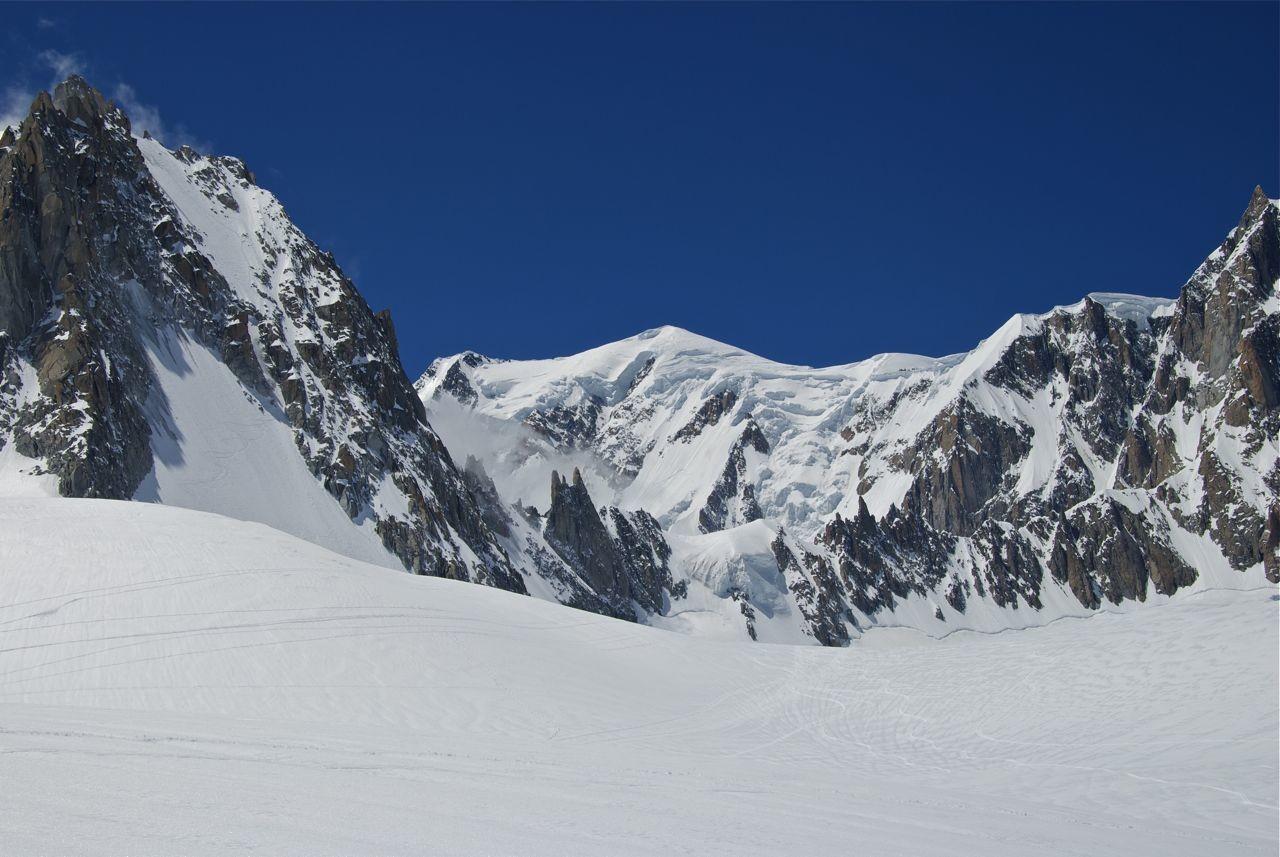 Mont Blanc secteur Brenva