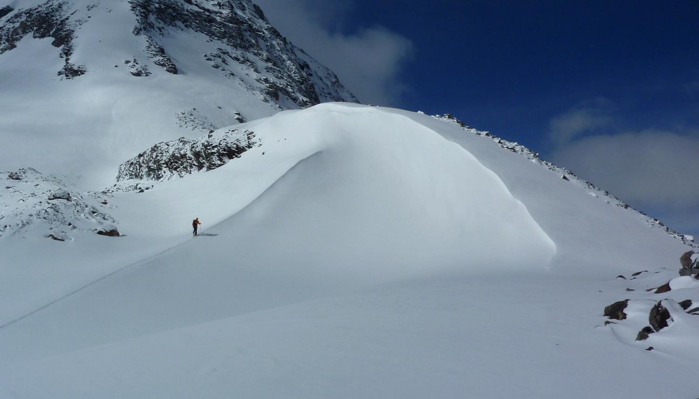 Au dessus du Grand Col