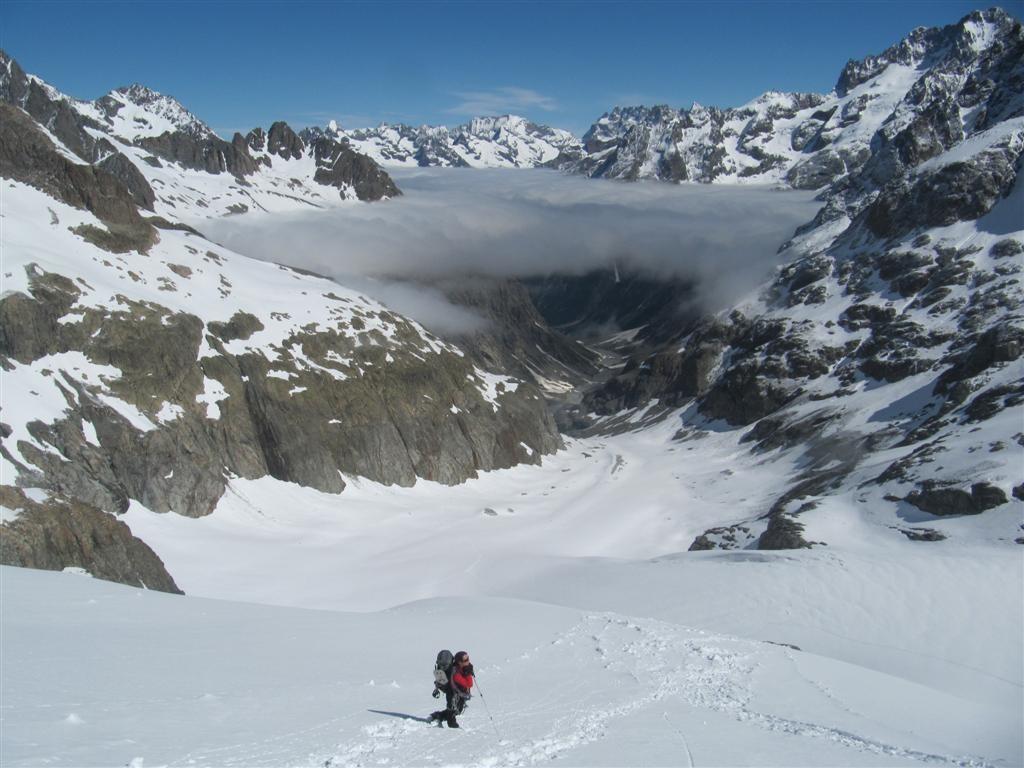 à la descente à 2800 m