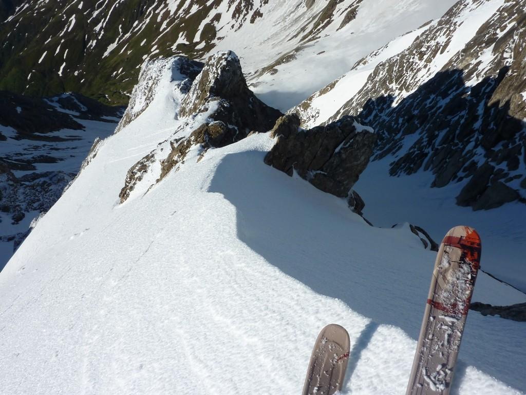Couloir de droite, à droite, et couloir de gauche, à gauche, la montagne ça reste abordable !