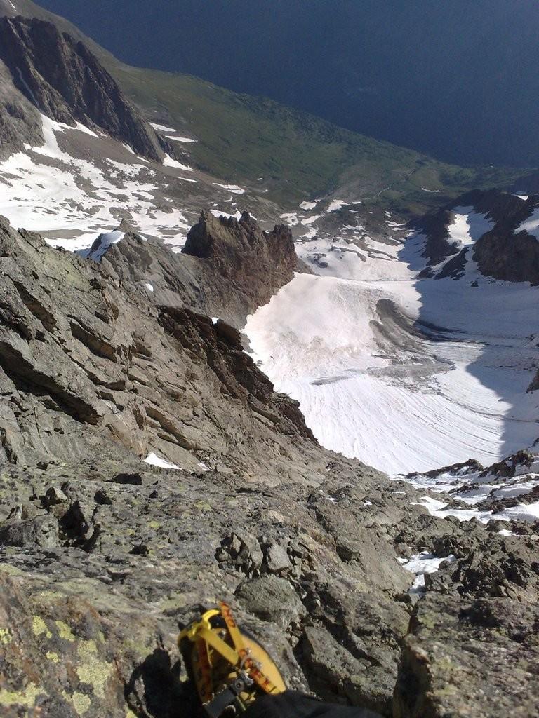 Glacier du Pierroux, Alpe du Pin