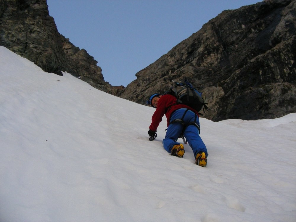 Alain in the couloir