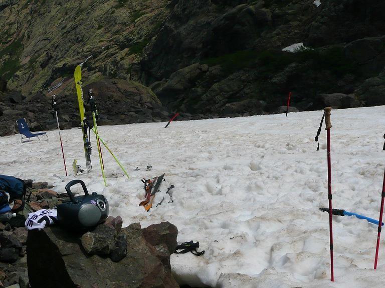 installation du Camp de base