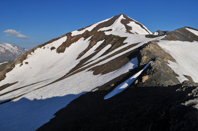 Sommet du Pic Blanc Marron