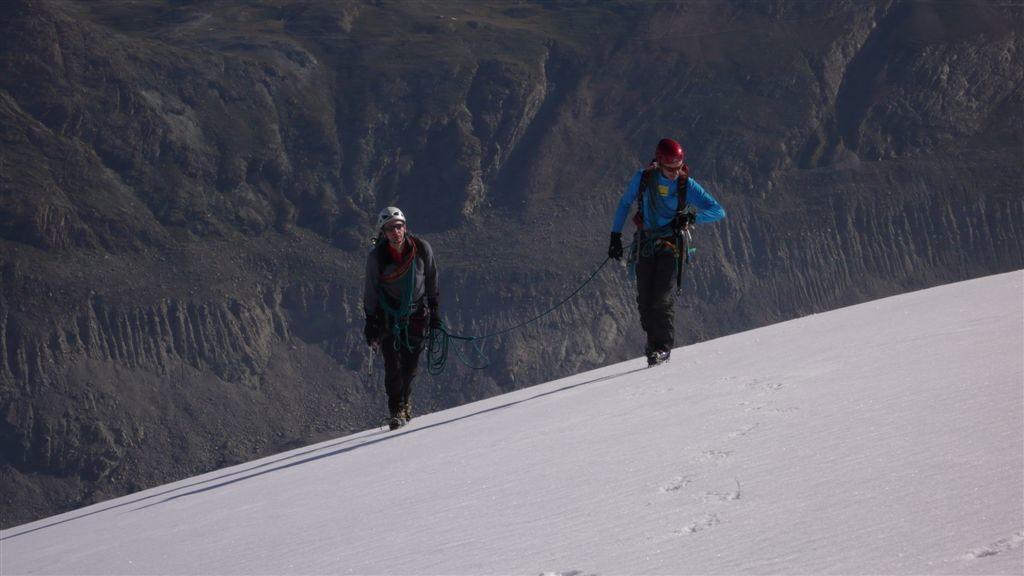 Sur le plateau à 3600m