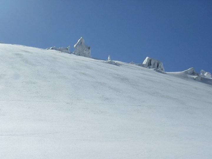 Il bellissimo ambiente glaciale