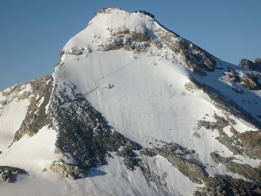 Vue de la face Nord depuis la pt. Travesière, encore 2 ans avant